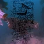 Mashup von Juliane Duda zu dem Buch von Wallace Stevens: Menschen, aus Worten gemacht