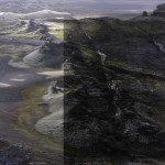 Mashup von Juliane Duda zu dem Buch von Kathrin Schmidt: Ein Engel fliegt durch die Tapetenfabrik