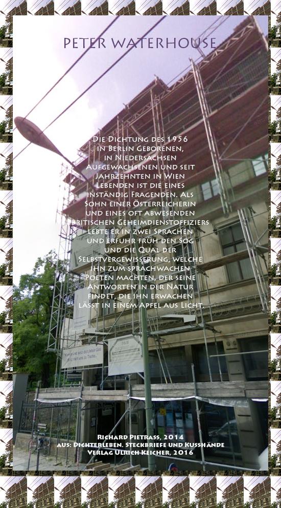 Beitragsbild von Juliane Duda zu Richard Pietraß: Dichterleben – Peter Waterhouse