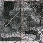 Mashup von Juliane Duda zu dem Buch von Julian Przyboś: Poesiealbum 147