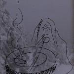 Mashup von Juliane Duda zu dem Buch von Wolfgang Bauer: Das stille Schilf