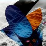 Mashup von Juliane Duda zu dem Buch von Else Lasker-Schüler: Mein blaues Klavier