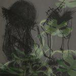 Mashup von Juliane Duda zu dem Buch von Ilma Rakusa: les mots / morts