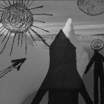 Mashup von Juliane Duda zu dem Buch Sonnenpferde und Astronauten