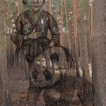 Mashup von Juliane Duda zu dem Buch von HEL Toussaint: Nachbarin Dimitrowa
