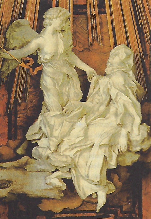 Die Verzückung der heiligen Theresa in der römischen Kirche Santa Maria delle Vittoria
