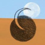 Mashup von Juliane Duda zum Buch von Anna Achmatowa: Ich lebe aus dem Mond, du aus der Sonne